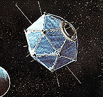 artist concept of Vela 5B in orbit