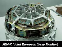 photo of JEM-X instrument
