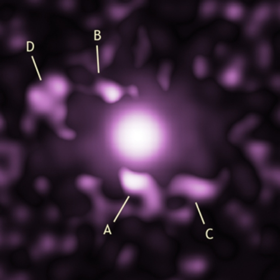 Chandra image of 4c37.43