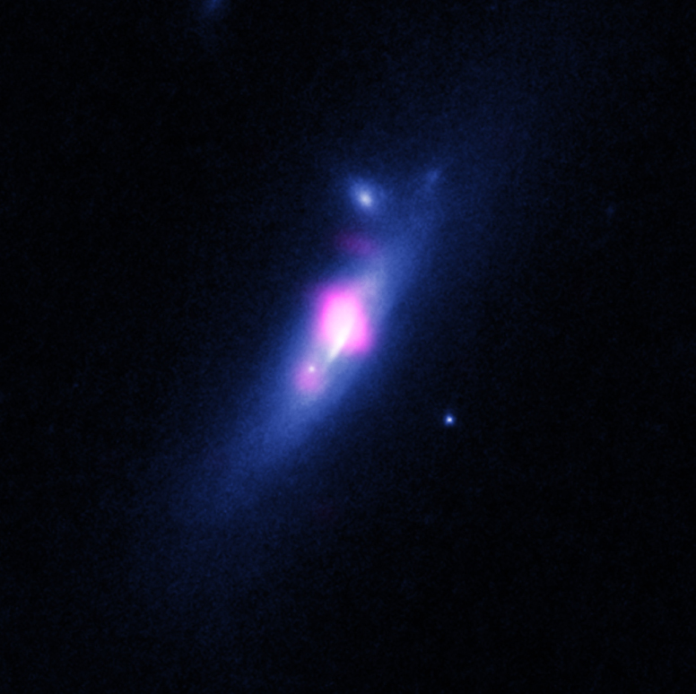 Chandra and HST image of SDSS J1126+2944