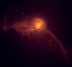 Chandra Low energy image of M87