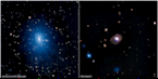 composite X-ray and optical images of galaxies used in a recent study of supermassive black holes