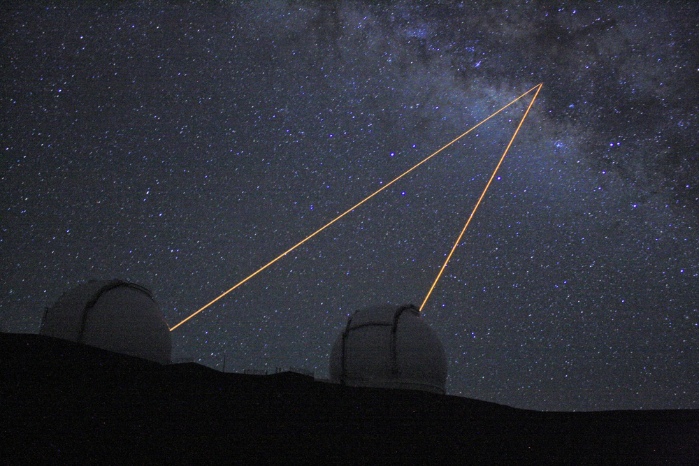 Keck Laser Guide Star Adaptive Optics observation of Sgr A*