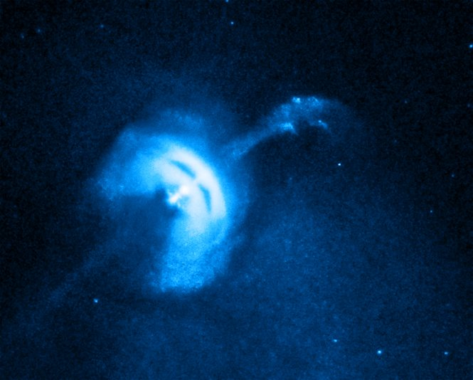 Chandra X-ray image of the Vela Pulsar