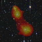 XMM image bridge between two galaxy clusters