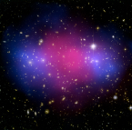 Images of light and dark matter