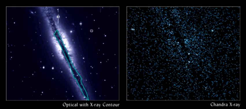 X-ray Background beyond NGC 891