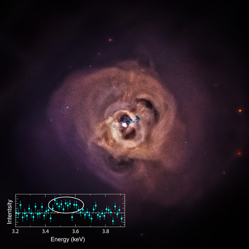 Chandra image and spectrum of the Perseus Cluster