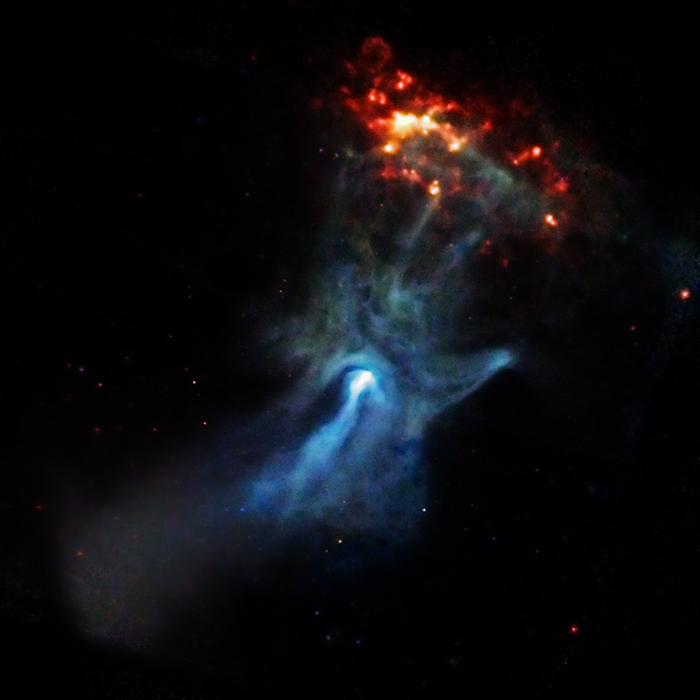 Chandra Image of a Pulsar Wind Nebula