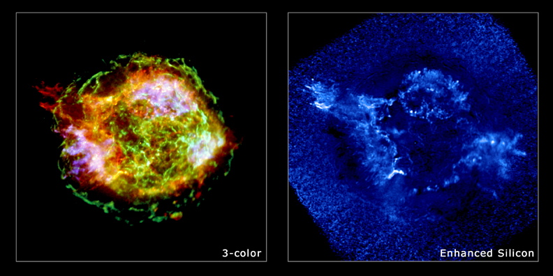 Million Second look at Cas A by Chandra
