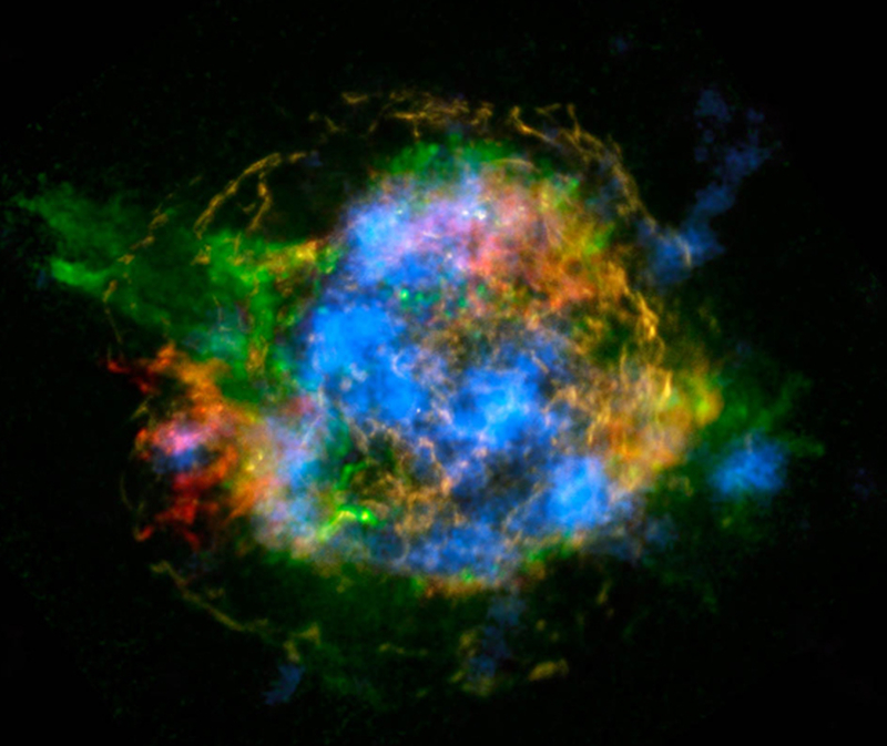 NuSTAR and Chandra view of Cas A