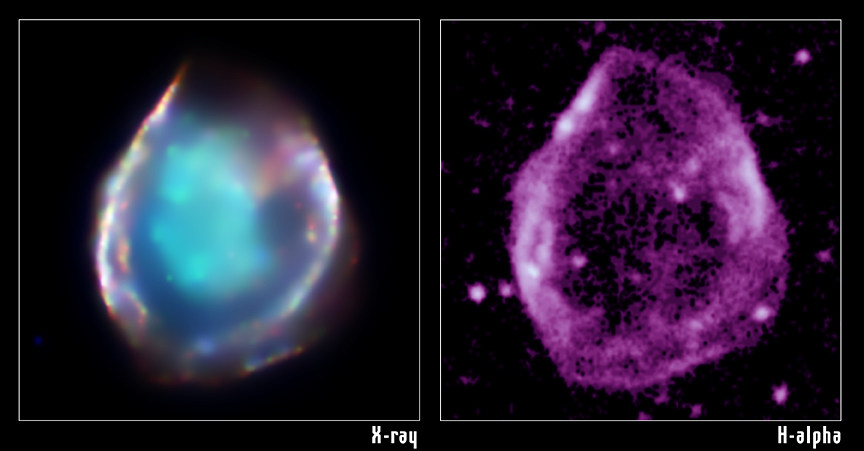 CHANDRA and optical image of DEM L71