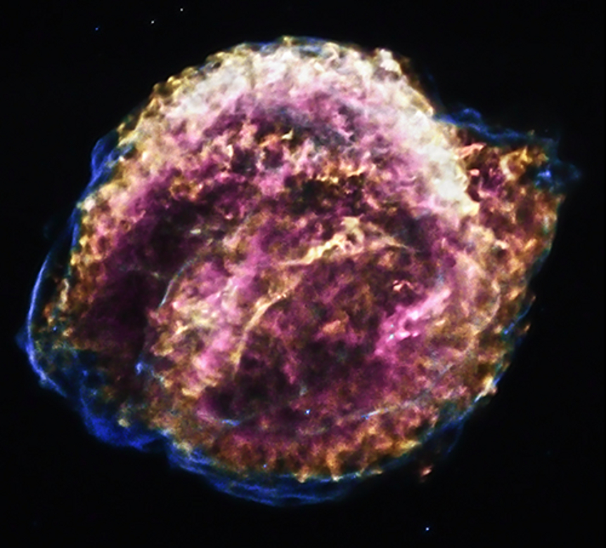 Chandra image of Kepler's supernova remnant