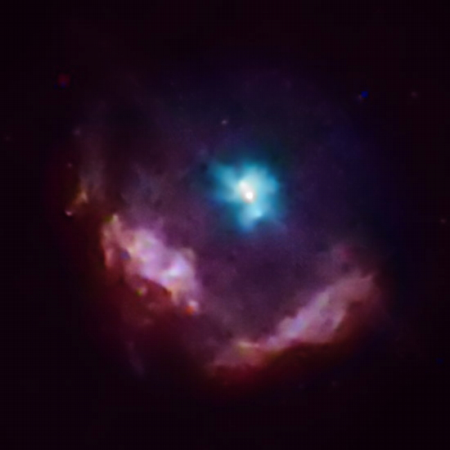 Chandra Observation of Kes 75 SNR