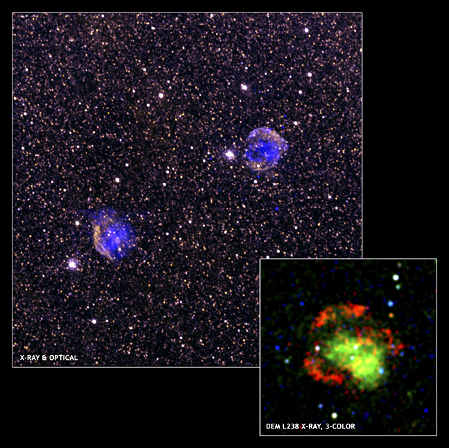 Chandra and XMM images of quick exploding Ia SNe