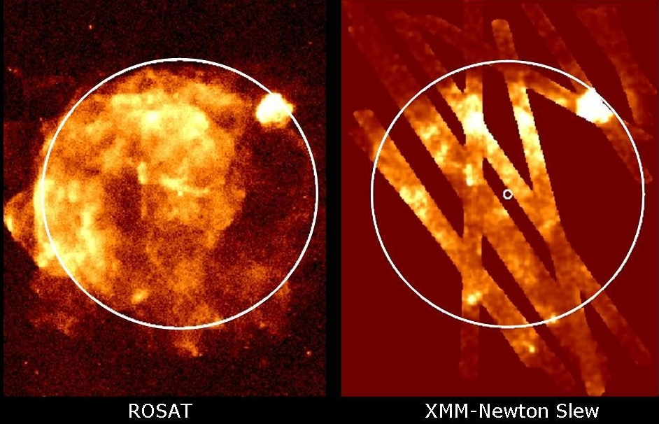 rosat and xmm slew survey view of the Vela SNR
