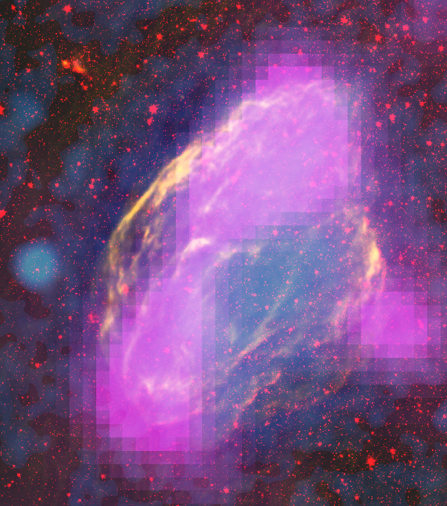 Fermi and composite image of W44