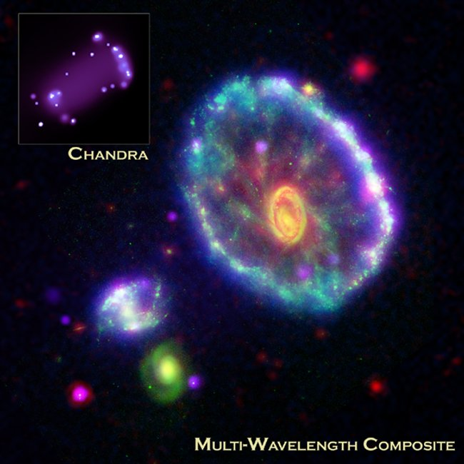 Cartwheel Galaxy composite