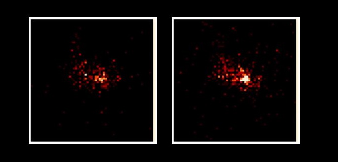 XMM-Newton Image of a Galactic center flare