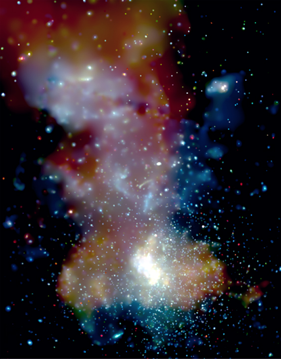 1 million second observation of the Galactic Center by Chandra
