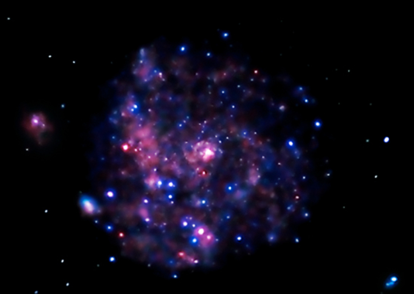 X-ray Image of M101 by Chandra