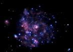 Deep Chandra image of M101