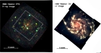 X-ray and optical images of M101