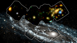 X-ray and Optical images of the Chesire Cat group of galaxies