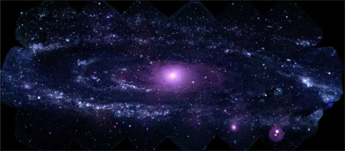 Swift uV image of M31