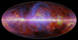 Planck composite map of the Milky Way