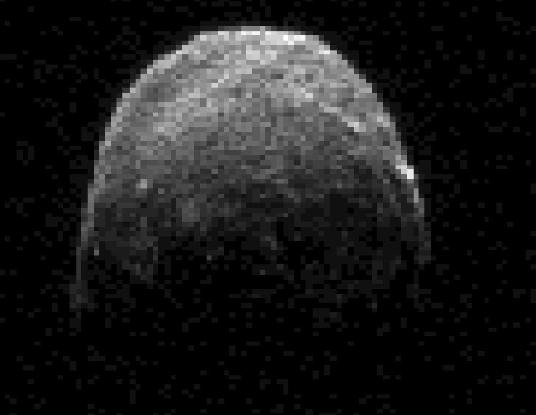 Goldstone image of earth-crossing asteroid 2005 YU55