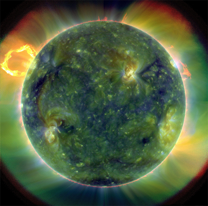 EUV sun by SDO