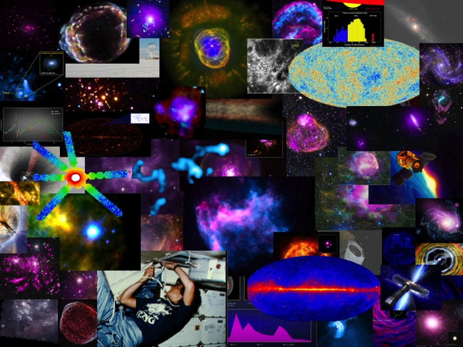 High Energy Astrophysics Pictures of the Year