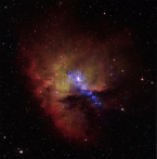 Chandra/Optical image of NGC 281