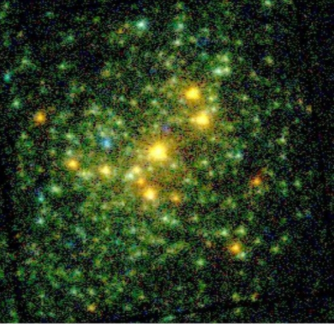 XMM color X-ray image of NGC 6231