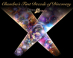 10 years of discovery with Chandra