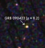 Afterglow of GRB 090423