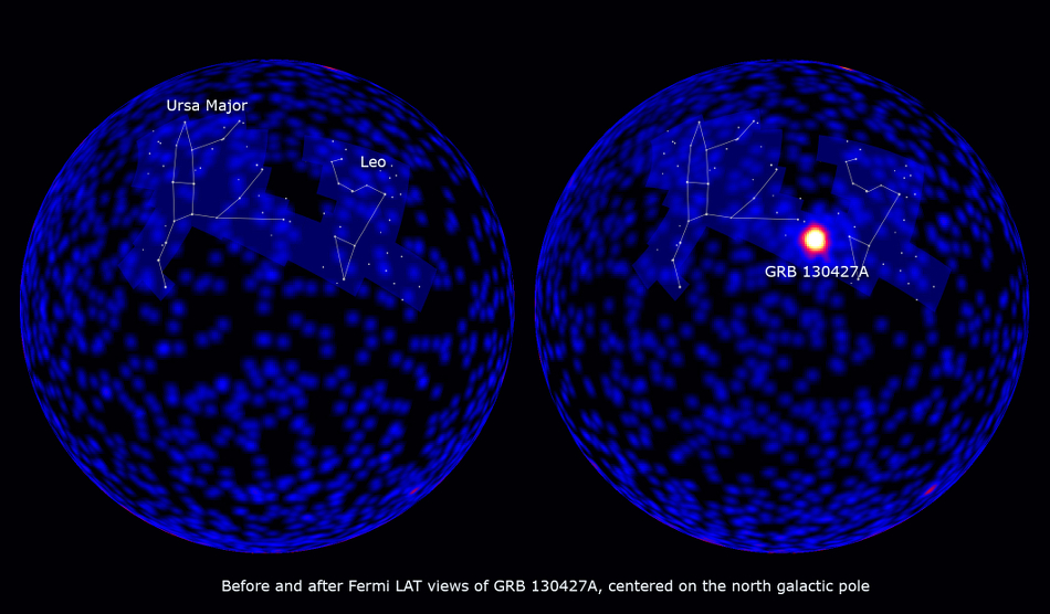 Fermi LAT observation of GRB 130427a