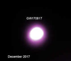 Chandra X-ray and HST visible-band images of GW170817, a merger of two neutron stars