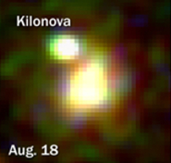 First observation of the UV emission from a kilonova by Swift/UVOT