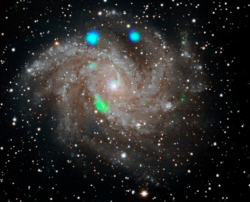 NuSTAR view of ultra-luminous X-ray sources in the Fireworks galaxy