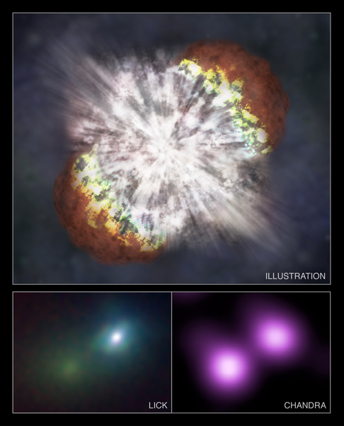 IR and X-ray images of SN 2006gy
