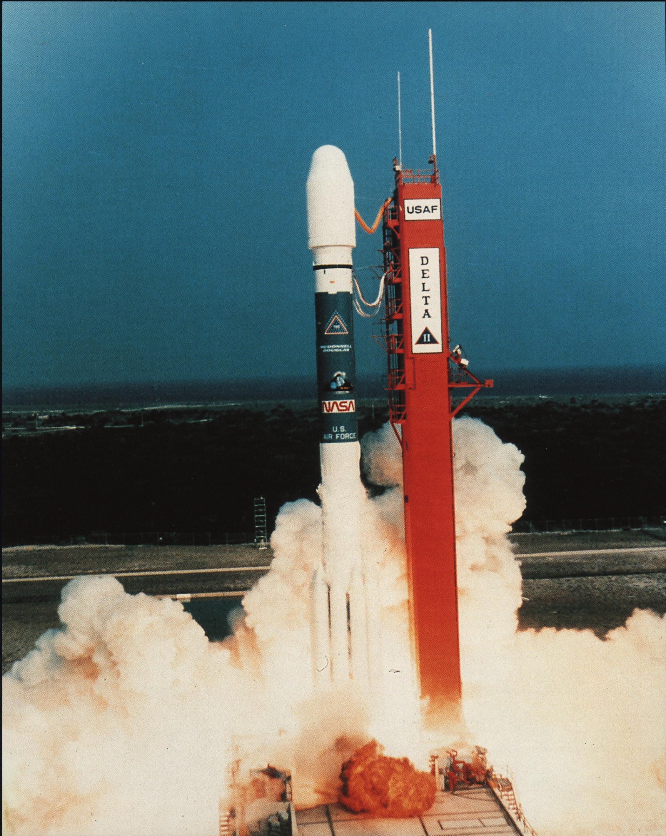 ROSAT Images: Launch