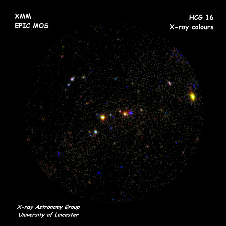 XMM-Newton MOS First Light - HCG 16 #1