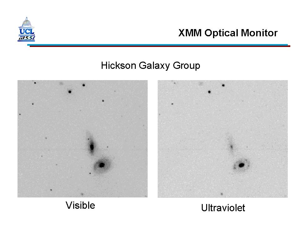 XMM-Newton OM First Light - HCG16 Zoomed