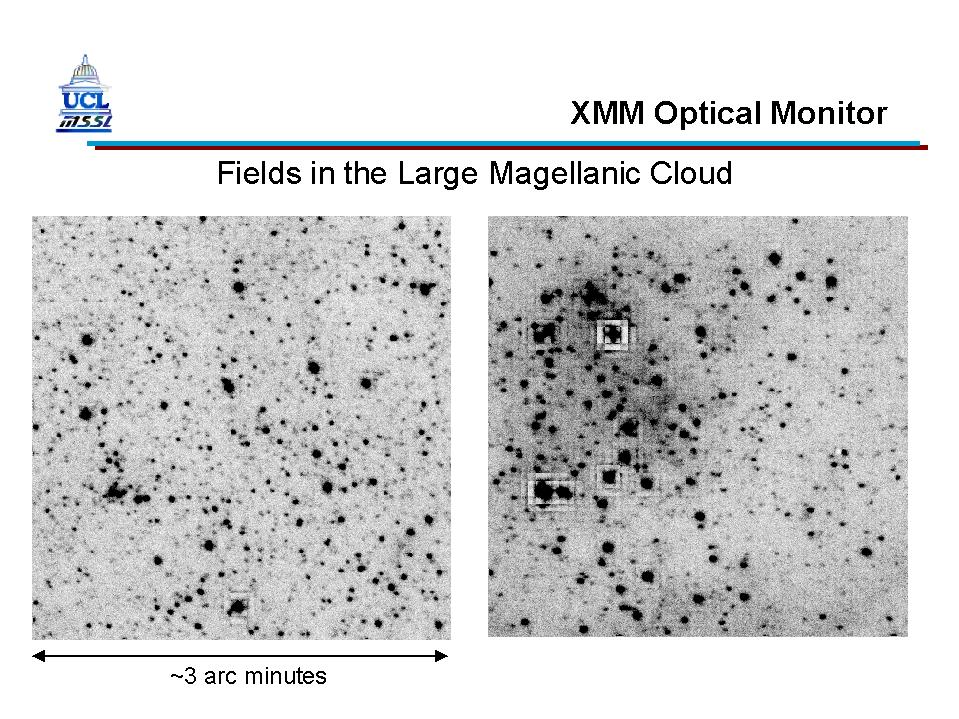 XMM-Newton OM First Light - LMC