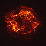 Chandra image of Cas A